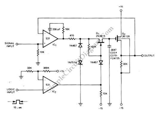 sample circuit diagram