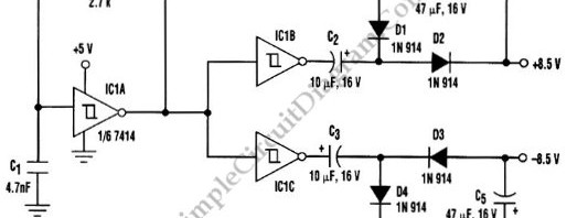 switching regulator  u2013 simple circuit diagram